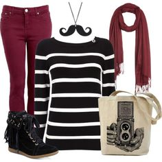 I Mustache You! - Polyvore