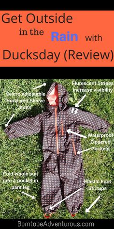 Ducksday Rain Suit R