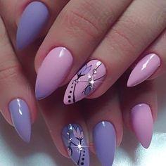 Classy Nails, Fancy Nails, Stylish Nails, Cute Nails, Pretty Nails, Almond Acrylic Nails, Cute Acrylic Nails, Acrylic Nail Designs, Nail Art Designs