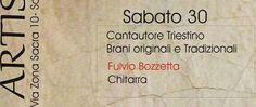 Sabato 30 aprile al Bar Trattoria Al Poeta di San Martino del Carso, Fulvio Bozzetta, poliedrico cantautore triestino. suonerà brani originali e tradizionali! http://www.alpoeta.it