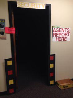 Agency D3 VBS 2014 classroom door