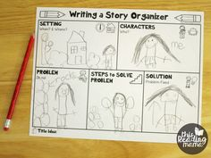 Story Writing Ideas for Kids {FREE Pack} – This Reading Mama Writing a Story Graphic Organizer for Kids – This Reading Mama 1st Grade Writing, Kindergarten Writing, Pre Writing, Writing Workshop, Kids Writing, Teaching Writing, Writing Practice, Writing Activities, Writing A Book
