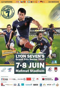 Rugby Lyon Sevens. Du 7 au 8 juin 2014 à Lyon.