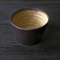 Rustic pottery bowl. Matte glaze. Speckled pottery. Seving