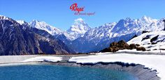 Auli is a purely adventure hotspot where passionate brave-hearts come for fun and frolic with snow all around.One can get the magnificent view of the snow capped Himalayan ranges.