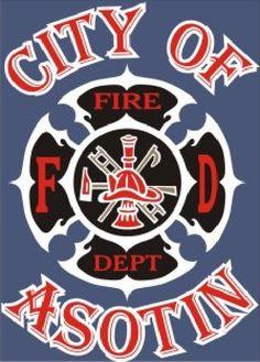 City Of Asotin Fire Department Logo