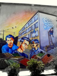 STREET ART UTOPIA » We declare the world as our canvasOpen Air Museum - In San Miguel, Santiago, Chile » STREET ART UTOPIA