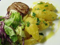 Potatoes, Chicken, Meat, Food, Stewed Potatoes, Garlic, Salads, Dinner Recipes, Bon Appetit
