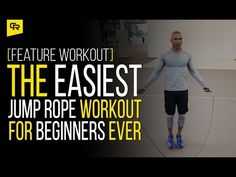 The Easiest Jump Rope Workout for Beginners Ever [Feature Workout] | Crossrope Jump Rope Training Blog