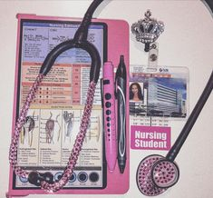 Med Surg 2 ICU Clinical today 💖 These are my clinical essentials: Blinged out lol My ID Penlight Bic Gelocity Pen Nursing Clipboard Nursing Schools In California, Best Nursing Schools, Nursing Jobs, Pediatric Nurse Practitioner, Nurse Practitioner Programs, Lpn To Rn Programs, Nursing Programs, What Is Nursing, Nurse Aesthetic