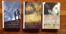 3 Historical Novels for Teens by Ann Rinaldi Paperbacks U.S. Revolution/Lincoln