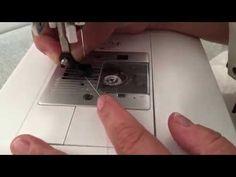 Como instalar o pé de quilting para réguas em sua máquina de costura doméstica…