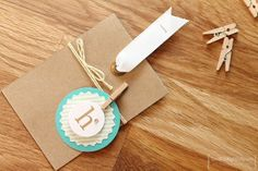 I found this on stampinup.com.  Fun gift tag idea with Feb 2014 kit