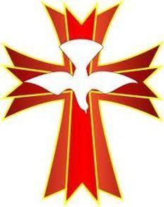 holy spirit cross clip art banners liturgical pinterest holy rh pinterest com