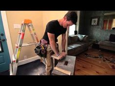 Patching a hole in drywall, husband verses wife - YouTube