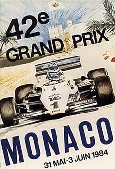 1984 GP de Mónaco en Montecarlo
