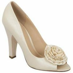 Brianna Leigh Penelope Bridal Shoes Ivory