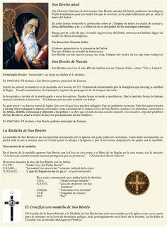Oración y significado de la medalla de San Benito