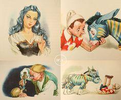 SALE Adventures of Pinocchio ca. 1958 First par KhaliNouveau