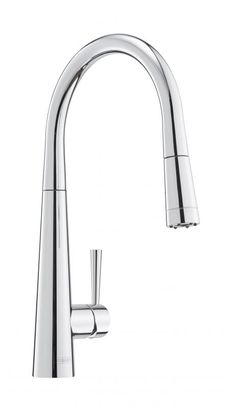 Franke: Rolux Tap with Pull Out Nozzle in Chrome