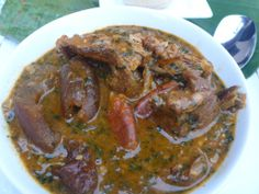 Ogbono soup nigerian soup