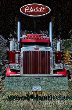 Abstract Peterbilt. www.rharrisphotos.com Body and Soul  Ready to Roll