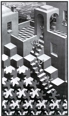 Are M C Escher S Paintings Cubism