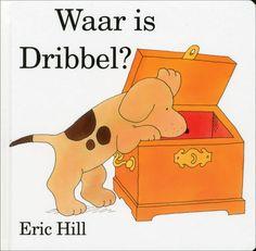 Eric Hill - Waar is Dribbel? Where`s Spot? | Het boekje dat ik vroeger ongeveer 80 keer heb gelezen.