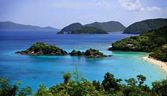 Gorgeous Trunk Bay, on the island of St. John, US Virgin Islands. Beautiful!