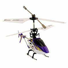 Swann SWTOY-SLIDER-GL Sky Slider RC Helicopter by Swann Communication USA Inc. $79.98. 60 minute recharge time via USB. 4 channel infrared remote control. Easy-Fly Gyro technology to assist with leveling. 8 minutes of flight time. 8 flying directions including side to side. With an advanced cyclic motor, the Sky Slider takes RC flight to a new level to more closely simulate the movements of a real helicopter. The Sky Slider is controlled by a 4 channel infrared remot...