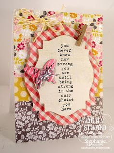 Handmade Creations by Stephanie: Unity and Paper Issues are Blog Hopping !!!!!
