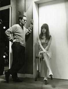 """giovanegrigorij:  """"pasticciaccio:  """"""""François Truffaut e Julie Christie  """" """"  THE ARTIST & THE MUSE  """""""