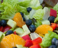 Summer Fresh Salad with Dressing