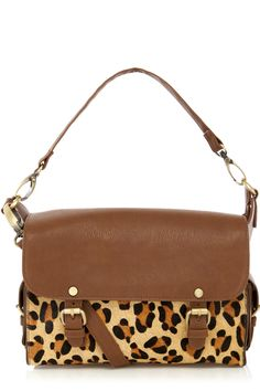 Leopard Print Satchel: We're a sucker for all things leather and leopard print at Warehouse towers. Accessories just got a wild makeover!