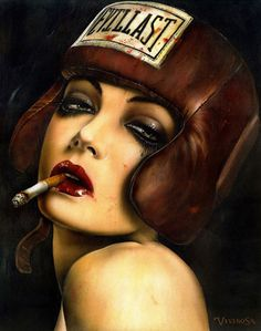 """""""Brain m Viveros - Momma said knock you out"""" I'm an instant fan!"""