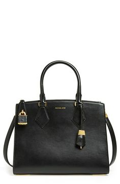 6583fc1f679203 Michael Kors 'Large Casey' Leather Satchel available at #Nordstrom Michael  Kors Bag,