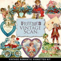 Freebies Vintage Viñetas