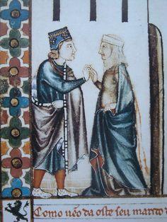 1200 ca., Cantigas di Alfonso el sabio, LXIV, Guerrero L (Alfonso X el Sabio 1221-1284)