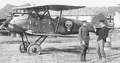 Favourite WW1 airplane -  Godwin Brumowskis Albatross D.III