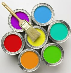 Interior Paint Color Schemes are available in quite many selections.You may find one of Interior Paint Color Schemes available to help you bring various designs Decorating Jobs, Interior Decorating, Painting Tips, House Painting, Powder Paint, Painting Services, Paint Finishes, Paint Cans, Media Center