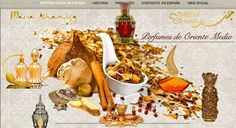 Perfumes Orientales Maria Alhambra