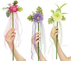 """18"""" Flower Fairy Tale Princess Wand Toy Prop Adult Child Costume Accessory New   eBay"""