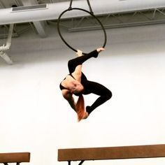 On Saturdays we spin! Methos dancer @smilo.aerial on lyra @methosaerial #methosaerial