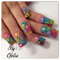 Colors by hazel82678 from Nail Art Gallery