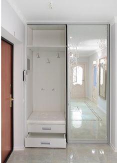 Bedroom Closet Design, Bedroom Furniture Design, Home Room Design, Home Furniture, Home Entrance Decor, Entryway Decor, Home Decor, Flur Design, Modern Hallway
