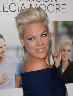 More Pics of Pink Fauxhawk (17 of 56) - Short Hairstyles Lookbook - StyleBistro