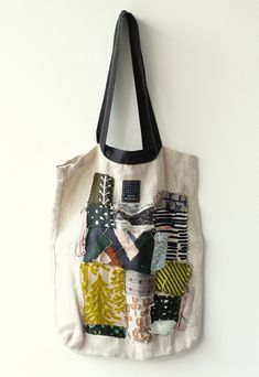 Patchwork Bag..  Shabby Chic