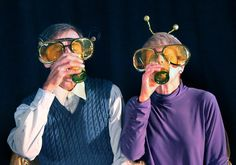 Review: Quick Exits - Westmount's Dramatis Personaepresents six dark comedies. By Byron Toben.  This collection of six slightly dark short one acts by five authors celebrates the absurdities of life in a truly audience-friendly manner.