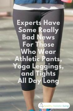 As comfortable as they might be, you shouldn't spend the day in yoga pants without reading this first. #yogapants #yoga #rash