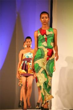 Kahindo. Hub of Africa Fashion Week.